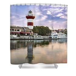 Lighthouse On Hilton Head Island Shower Curtain