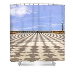 Livorno Shower Curtain by Joana Kruse