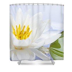 Lotus Flower Shower Curtain by Elena Elisseeva