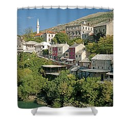 Mostar In Bosnia Herzegovina Shower Curtain