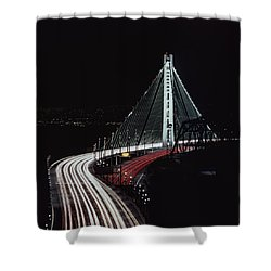 Oakland Bridge Shower Curtain