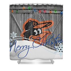 Orioles Shower Curtain