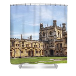 Oxford Shower Curtain by Joana Kruse