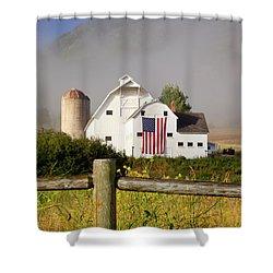 Park City Barn Shower Curtain