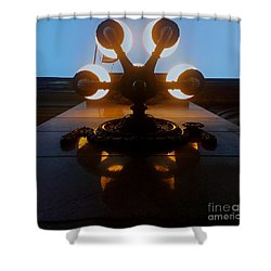 5 Points Of Light Shower Curtain by James Aiken