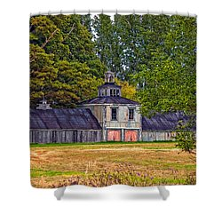 5 Star Barn Shower Curtain by Steve Harrington