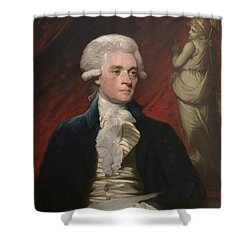 Thomas Jefferson - By Mather Brown Shower Curtain