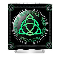 Triquetra Shower Curtain