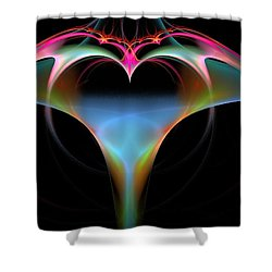 What Do You See Shower Curtain by Bruce Nutting