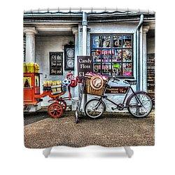 Ye Olde Sweet Shoppe Shower Curtain by Steve Purnell
