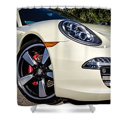 50th Anniversary Porsche 911 Shower Curtain