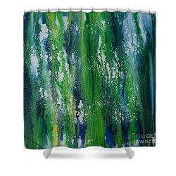 Greenery Duars Shower Curtain