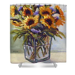 Summer Bouquet 4 Shower Curtain