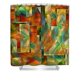53 Doors Shower Curtain