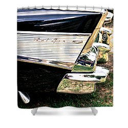 '57 Chevy Bel Air Shower Curtain