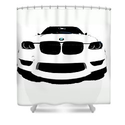 BMW Shower Curtain by J Anthony