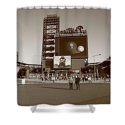 Citizens Bank Park - Philadelphia Phillies Shower Curtain