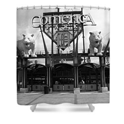 Comerica Park - Detroit Tigers Shower Curtain