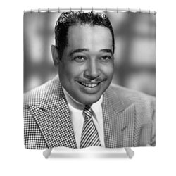 Duke Ellington (1899-1974) Shower Curtain by Granger
