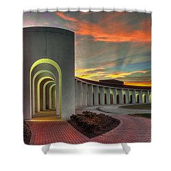 Ferguson Center For The Arts Shower Curtain