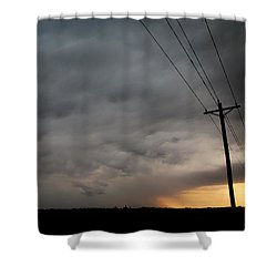 Let The Storm Season Begin Shower Curtain