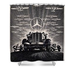 Mercedes - Benz Shower Curtain