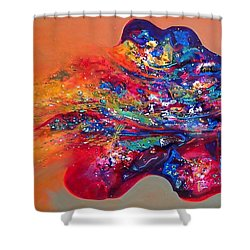 Morning Glory Sold Out Shower Curtain