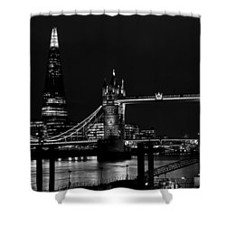 The Shard And Tower Bridge Shower Curtain