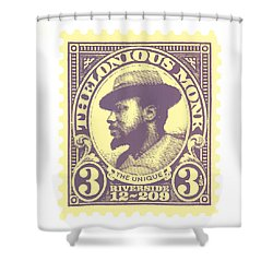 Thelonious Monk -  The Unique Thelonious Monk Shower Curtain
