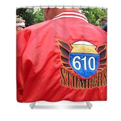 610 Stompers - New Orleans La Shower Curtain by Deborah Lacoste