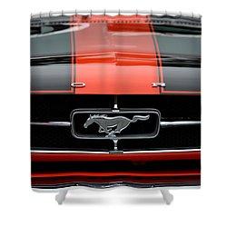65 Mustang Shower Curtain by Dean Ferreira
