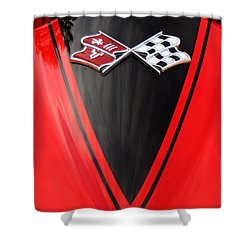 65 Sting Ray-torch Red-hood-8785 Shower Curtain by Gary Gingrich Galleries