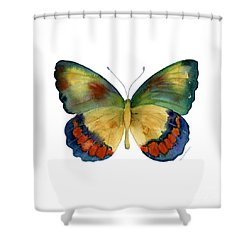 67 Bagoe Butterfly Shower Curtain