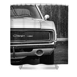 '68 Charger Shower Curtain by Gordon Dean II