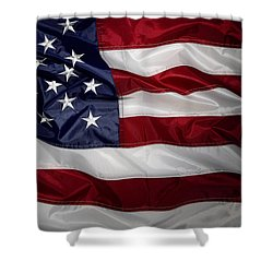 American Flag 52 Shower Curtain