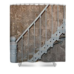 69 Steps Shower Curtain