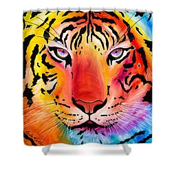 6983 Tiger Shower Curtain
