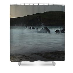 Beenbane Beach Shower Curtain