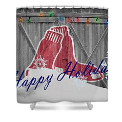 Beau Boston Red Sox Shower Curtain