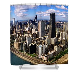Chicago Il Shower Curtain by Panoramic Images