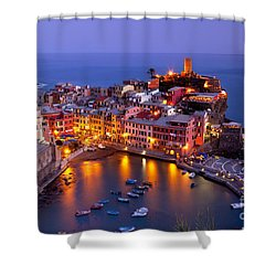 Cinque Terre Shower Curtain by Brian Jannsen