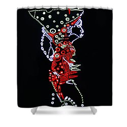 Dinka Lady - South Sudan Shower Curtain by Gloria Ssali