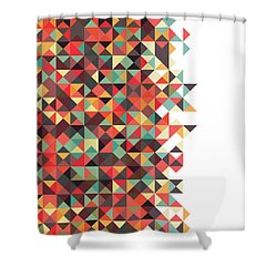 Geometric Art Shower Curtain
