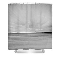7 Mile Bridge 10 Shower Curtain