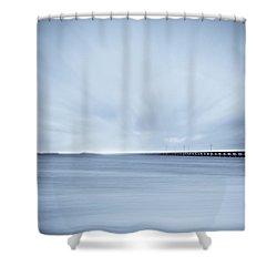 7 Mile Bridge 7 Shower Curtain