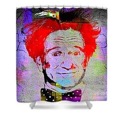 Robin Williams Art Shower Curtain