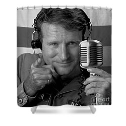 Robin Williams Good Morning Vietnam Shower Curtain