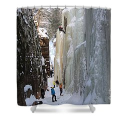 The Flume Gorge Nh Shower Curtain