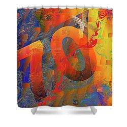 70 X 7 Shower Curtain by Chuck Mountain