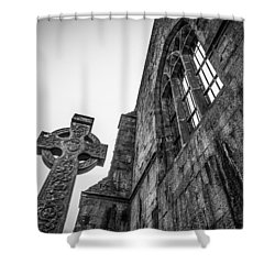 700 Years Of Irish History At Quin Abbey Shower Curtain